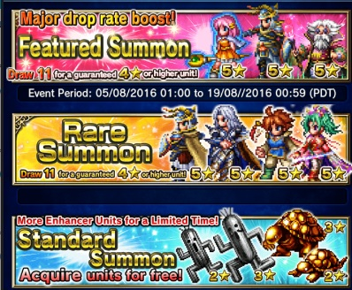 Banner changes