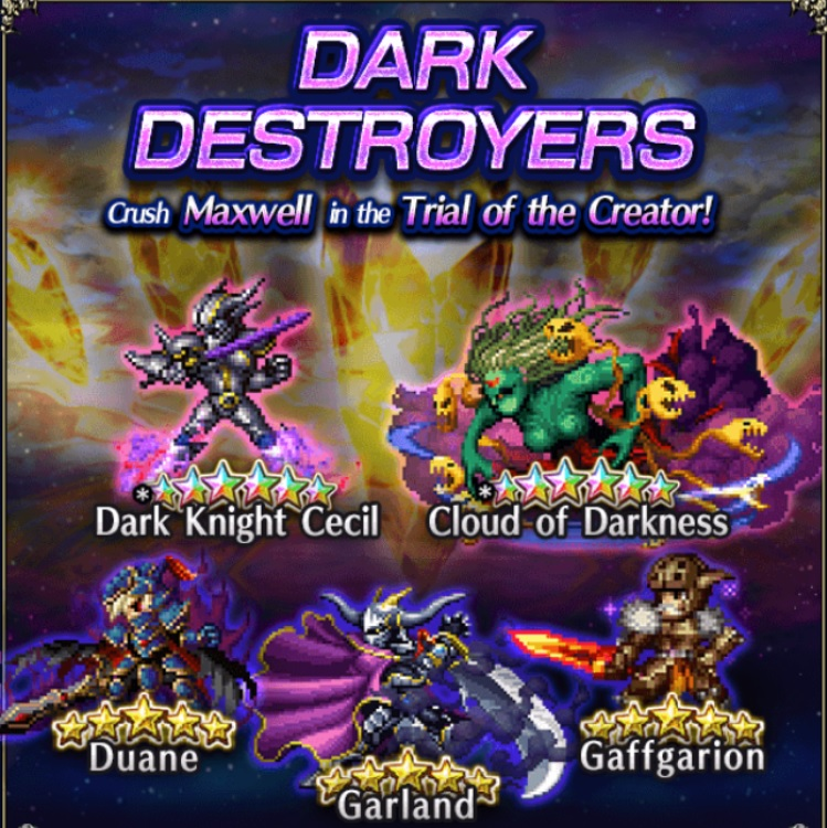 Old Allies – Dark Destroyers | Final Fantasy Brave Exvius