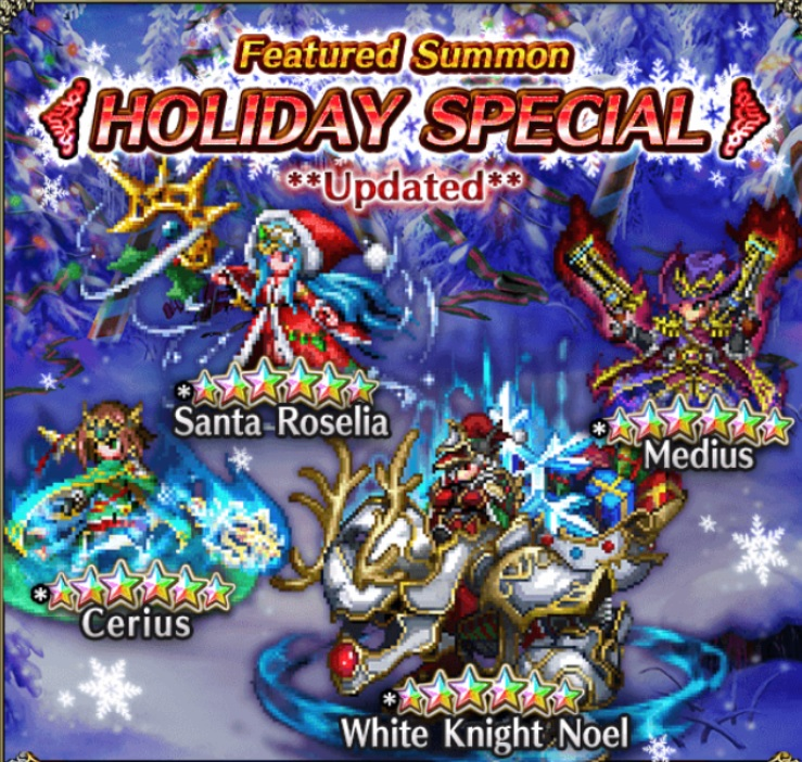 New Allies – Christmas Units | Final Fantasy Brave Exvius English Guide